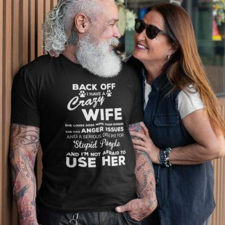 Crazy Wife T Shirt