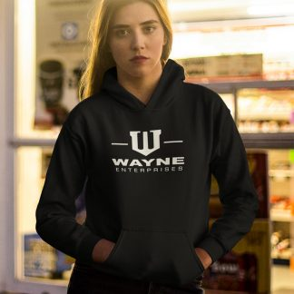 Wayne Enterprises Batman Inspired Hoodie