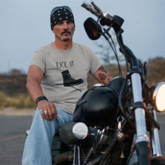 Kick It Classic Bike T Shirt