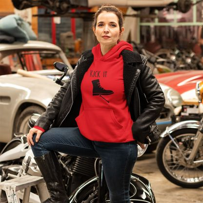 Kick it Classic Bike Hoodie