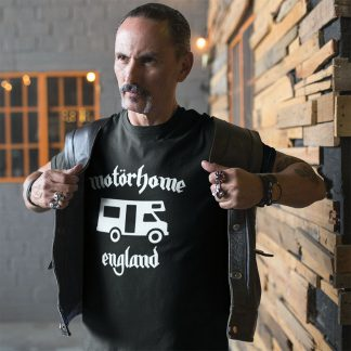 Motorhome England Parody T Shirt